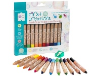 Officeworks First Creations Easi-Grip Wooden Pencils 12 Pack