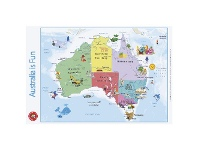 Officeworks Learning Can Be Fun Australia Is Fun Double-sided Wall Chart
