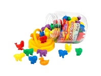 Officeworks Learning Can Be Fun Animal Counters 72 Pack