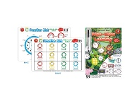 Officeworks Learning Can Be Fun Practice Mat & Workbook Time