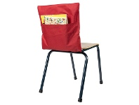 Officeworks Learning Can Be Fun Chair Bag Red