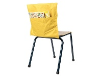 Officeworks Learning Can Be Fun Chair Bag Yellow