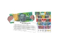 Officeworks Learning Can Be Fun Take Note Laminated Currency