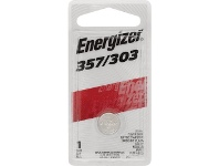 Officeworks Energizer 357/303 Silver Oxide Button Battery