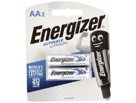 Officeworks Energizer Ultimate Lithium AA Batteries 2 Pack