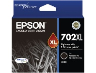 Officeworks Epson 702XL Ink Cartridge Black