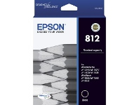 Officeworks Epson 812 DURABrite Ultra Ink Cartridge Black