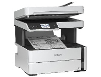 Officeworks Epson Mono EcoTank Printer White ET-M3170