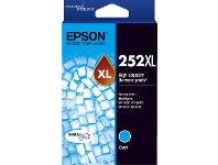 Officeworks Epson 252XL Ink Cartridge Cyan