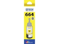 Officeworks Epson T664 EcoTank Ink Bottle Yellow