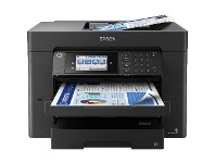 Officeworks Epson Workforce Multifunction A3 Printer Black WF-7840
