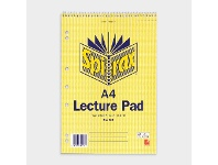 Officeworks Spirax A4 No. 905 Lecture Pad 140 Page