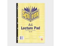 Officeworks Spirax A4 No. 907 Lecture Pad 140 Page