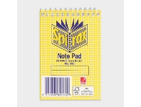 Officeworks Spirax No. 560 Note Pad 112 x 77mm 96 Pages
