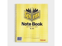 Officeworks Spirax No. 592 Notebook 222 x 178mm 120 Page