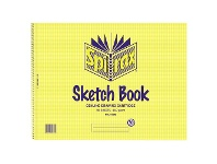 Officeworks Spirax No. 579B Sketch Book 48 Pages