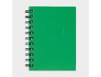 Officeworks Spirax No. 510 A6 Hard Cover Notebook 100 Page Green