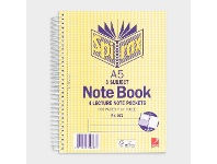 Officeworks Spirax No. 572 A5 3 Subject Notebook 210 x 148mm 300 Page