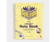 Officeworks Spirax No. 596C A4 5 Subject Notebook 250 Page