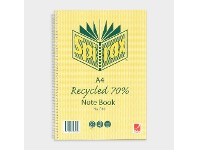 Officeworks Spirax A4 No. 810 Recycled Notebook 120 Page