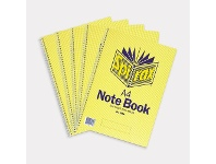 Officeworks Spirax No.595A Notebooks 240 Page 5 Pack
