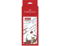 Officeworks Faber-Castell Faber Castell Elite Geometry Set 9 Pieces