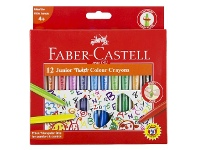 Officeworks Faber-Castell Junior Twistable Crayons 12 Pack