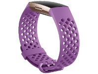 Officeworks Fitbit Charge 4 Sport Band Large Berry