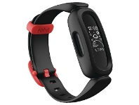 Officeworks Fitbit Ace 3 Cosmic Black/Racer Red