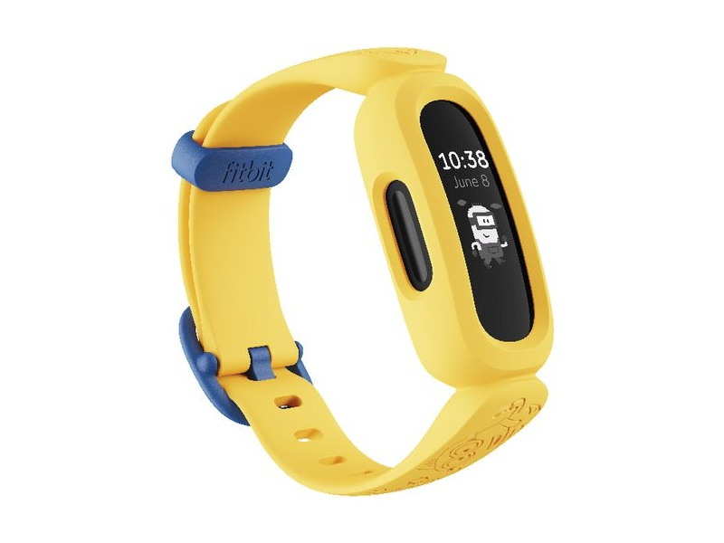 Fitbit Ace 3 Fitness Tracker Minions Yellow