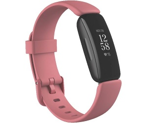 Fitbit Inspire 2 Smart Fitness Tracker Rose and Black