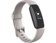 Officeworks Fitbit Inspire 2 Smart Fitness Tracker White and Black