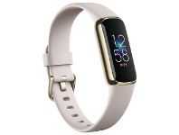 Officeworks Fitbit Luxe Lunar White/Soft Gold