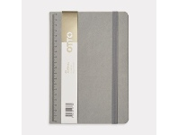 Officeworks Otto A5 Notebook with Mechanical Pencil 192 Pages Grey