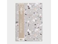 Officeworks Otto A5 Week to View FY21/22 Terrazzo Diary Grey