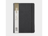 Officeworks Otto A5 Bullet Journal Ruled 240 Page Black