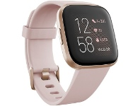 Officeworks Fitbit Versa 2 Smart Watch Petal Copper Rose