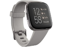 Officeworks Fitbit Versa 2 Smart Watch Stone Mist Grey