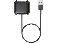 Officeworks Fitbit Versa 2 Charging Cable Black