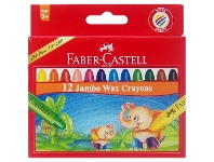 Officeworks Faber-Castell Jumbo Crayons 12 Pack