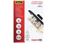 Officeworks Fellowes A3 125 Micron Laminating Pouch Gloss 100 Pack
