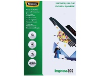 Officeworks Fellowes A3 100 Micron Laminating Pouch Gloss 100 Pack
