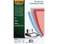Officeworks Fellowes Binding Covers A4 150 Microns Clear 100 Pack