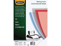 Officeworks Fellowes Binding Covers A3 200 Microns Clear 100 Pack