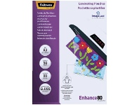 Officeworks Fellowes A3 80 Micron Laminating Pouch Gloss 50 Pack