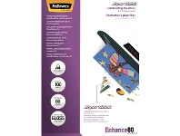 Officeworks Fellowes A4 80 Micron SuperQuick Laminating Pouches 100 Pack