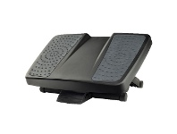 Officeworks Fellowes Professional Ultimate Footrest Black