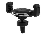 Officeworks EFM Wireless Vent Charger with Car Charger Black/Graphite
