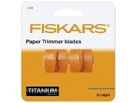 Officeworks Fiskars Surecut Replacement Trimmer Blades 2 Pack