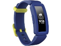 Officeworks Fitbit Ace 2 Kids Activity Tracker Night Sky/Neon Yellow